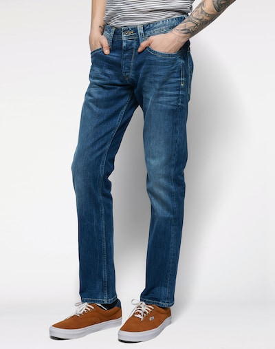 Pepe Jeans Jeans 'Cash' in blue denim, Modelansicht