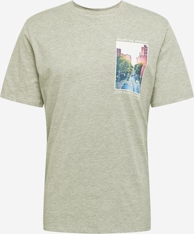 SELECTED HOMME Tričko - sivá / zmiešané farby: Pohľad spredu