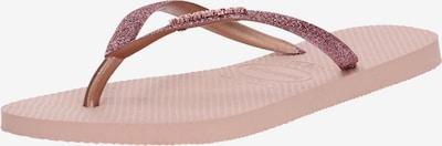 HAVAIANAS Séparateur d'orteils 'Glitter' en rose, Vue avec produit