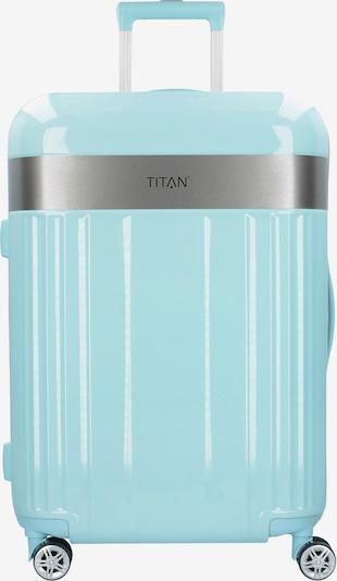 TITAN Trolley 'Spotlight Flash M' in mint / silber, Produktansicht