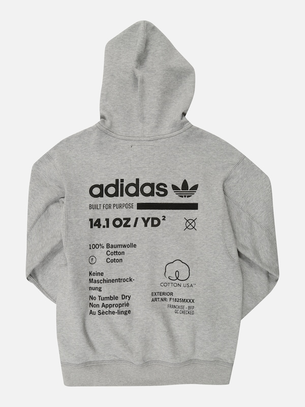 ADIDAS ORIGINALS Sweatjacke 'KAVAL' in grau | ABOUT YOU