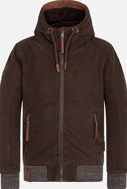 Naketano Jacket 'Isch brauch Deo    ' in braun  Neue Kleidung in dieser Saison