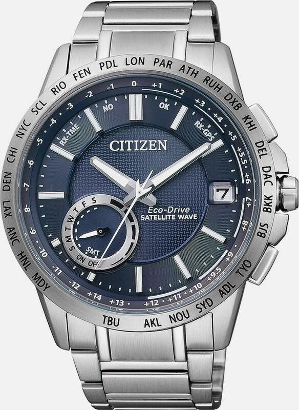"CITIZEN Armbanduhr mit GPS, ""CC3000-54L"""