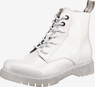 TAMARIS Schnürstiefelette in weiß, Produktansicht