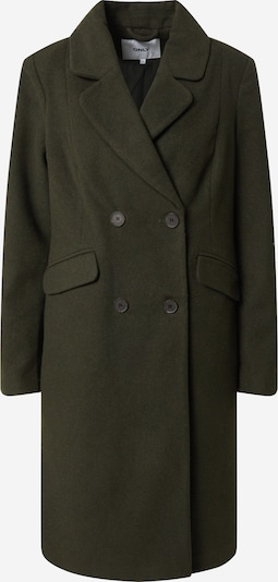 Cappotto di mezza stagione ONLY di colore verde scuro, Visualizzazione prodotti