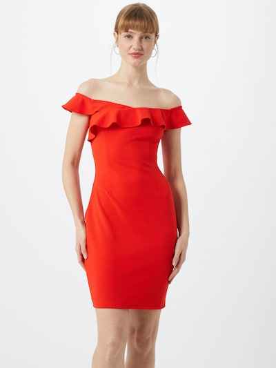 GUESS Kleid 'LUPE' in rot, Modelansicht