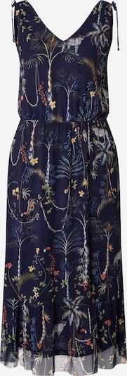 s.Oliver Koktel haljina u morsko plava / žuta / zelena, Pregled proizvoda
