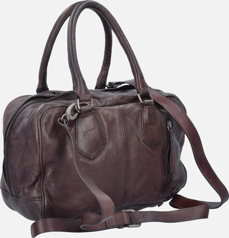 Taschendieb Wien Handtasche Leder 26 cm