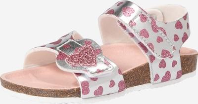 s.Oliver Junior Sandale in pink / silber: Frontalansicht