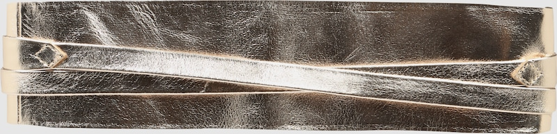 VANZETTI Taillengürtel im Metallic-Look