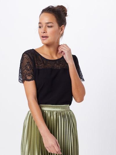 VILA Bluse 'MERO' in schwarz, Modelansicht