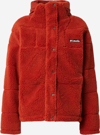 Jachetă  fleece funcțională COLUMBIA pe maro ruginiu, Vizualizare produs