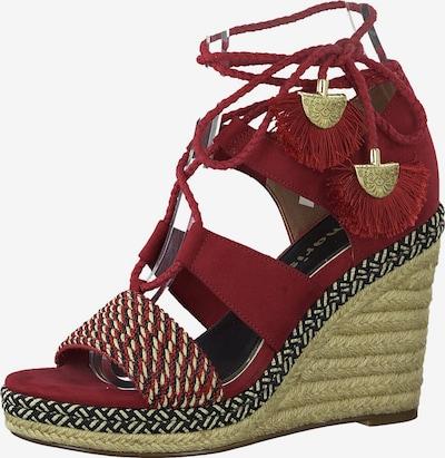 TAMARIS Sandále - červené, Produkt
