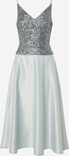 SWING Kleid in aqua / silbergrau, Produktansicht