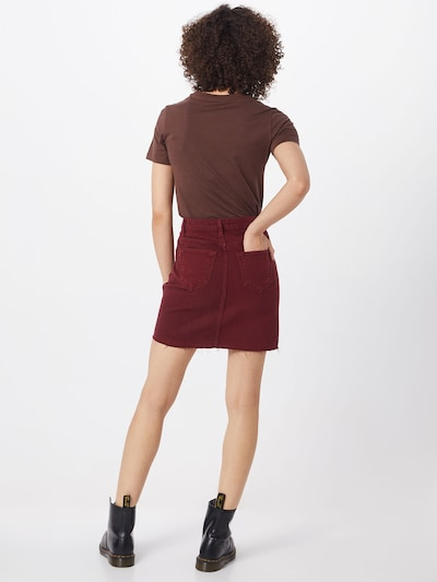 NEW LOOK Krilo 'JELLY BEAN' | burgund barva: Pogled od zadnje strani