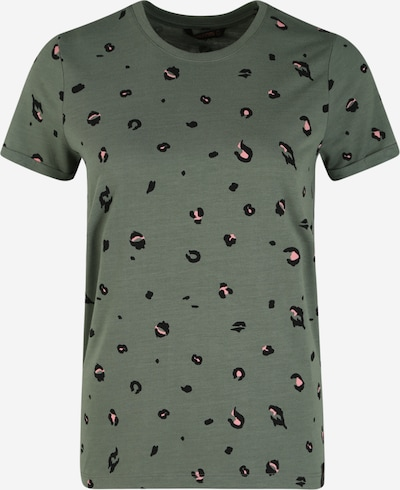 BRUNOTTI Shirt 'Peyton' in dunkelgrün / schwarz, Produktansicht