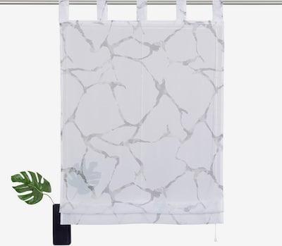 MY HOME Raffrollo in grau / weiß, Produktansicht