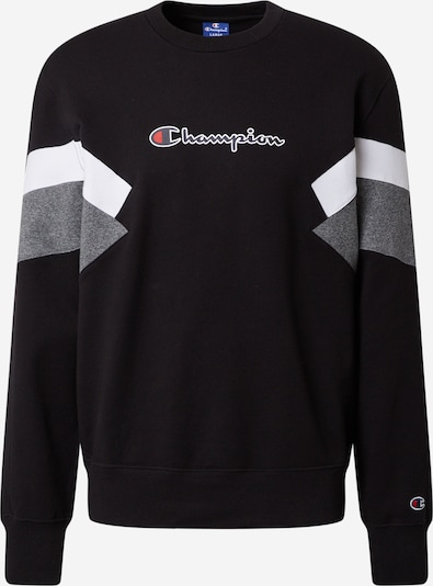 Champion Authentic Athletic Apparel Sweater majica u mornarsko plava / siva melange / crvena / crna / bijela, Pregled proizvoda