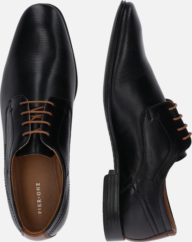 Pier Lacets Chaussure En À '73163' Noir One pUMVGSzq