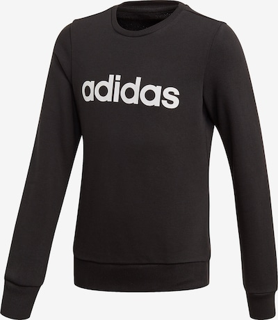 ADIDAS PERFORMANCE Sportief sweatshirt 'Elin' in de kleur Zwart / Wit, Productweergave