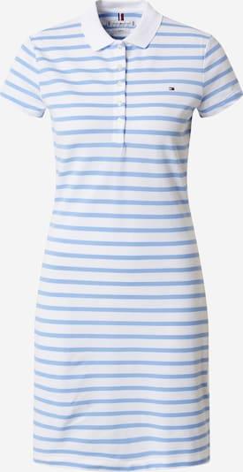 TOMMY HILFIGER Košeľové šaty - svetlomodrá / biela: Pohľad spredu