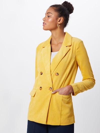b.young Blazer 'Byelin' in gelb, Modelansicht