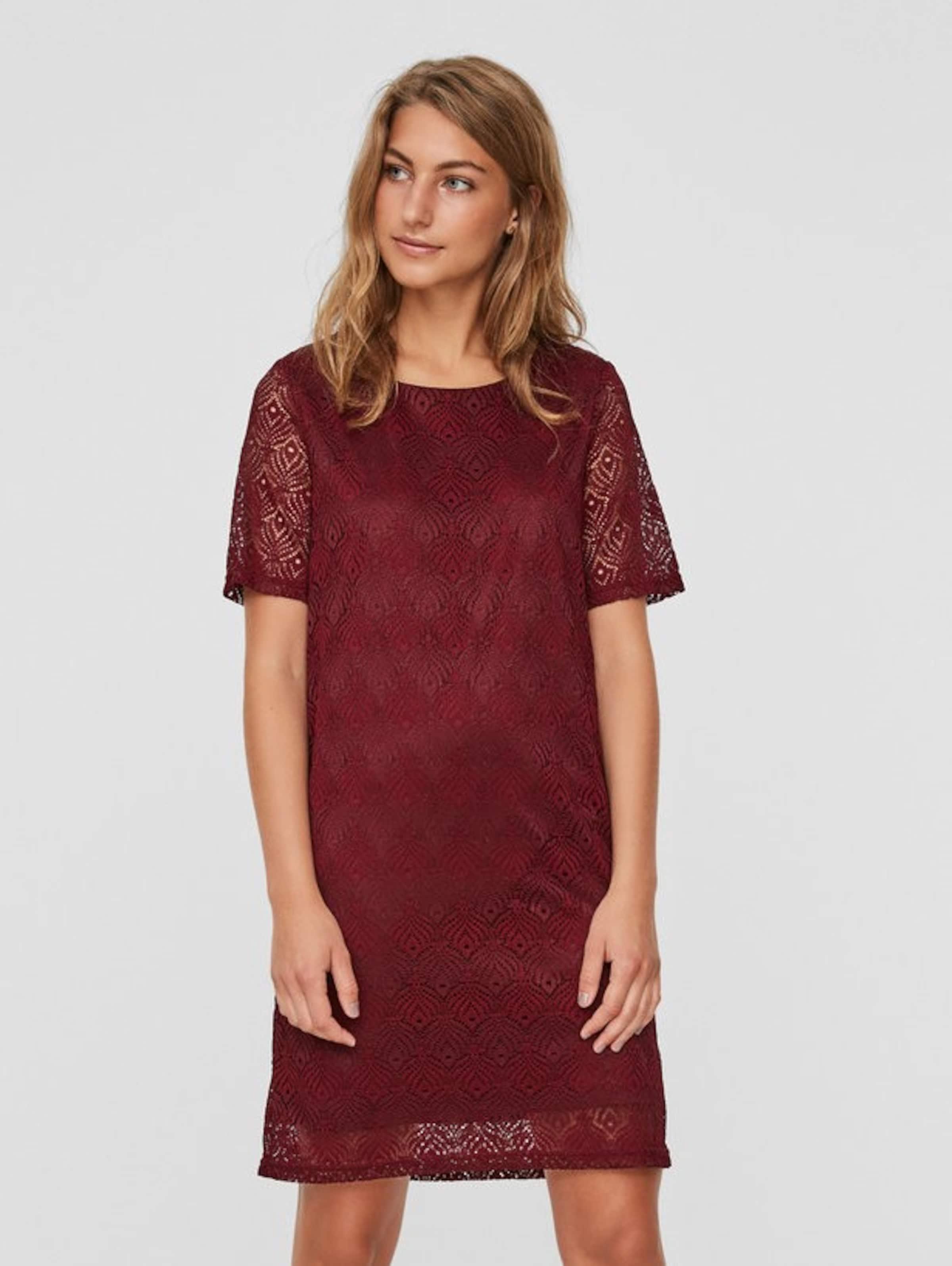 VERO MODA Spitzen-Kleid mit kurzen Ärmeln 2018 Kühl Besuch Günstig Kaufen Offizielle Seite Billig Verkauf Neueste eXD00R