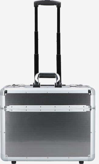 ALUMAXX Pilotenkoffer in schwarz / silber, Produktansicht