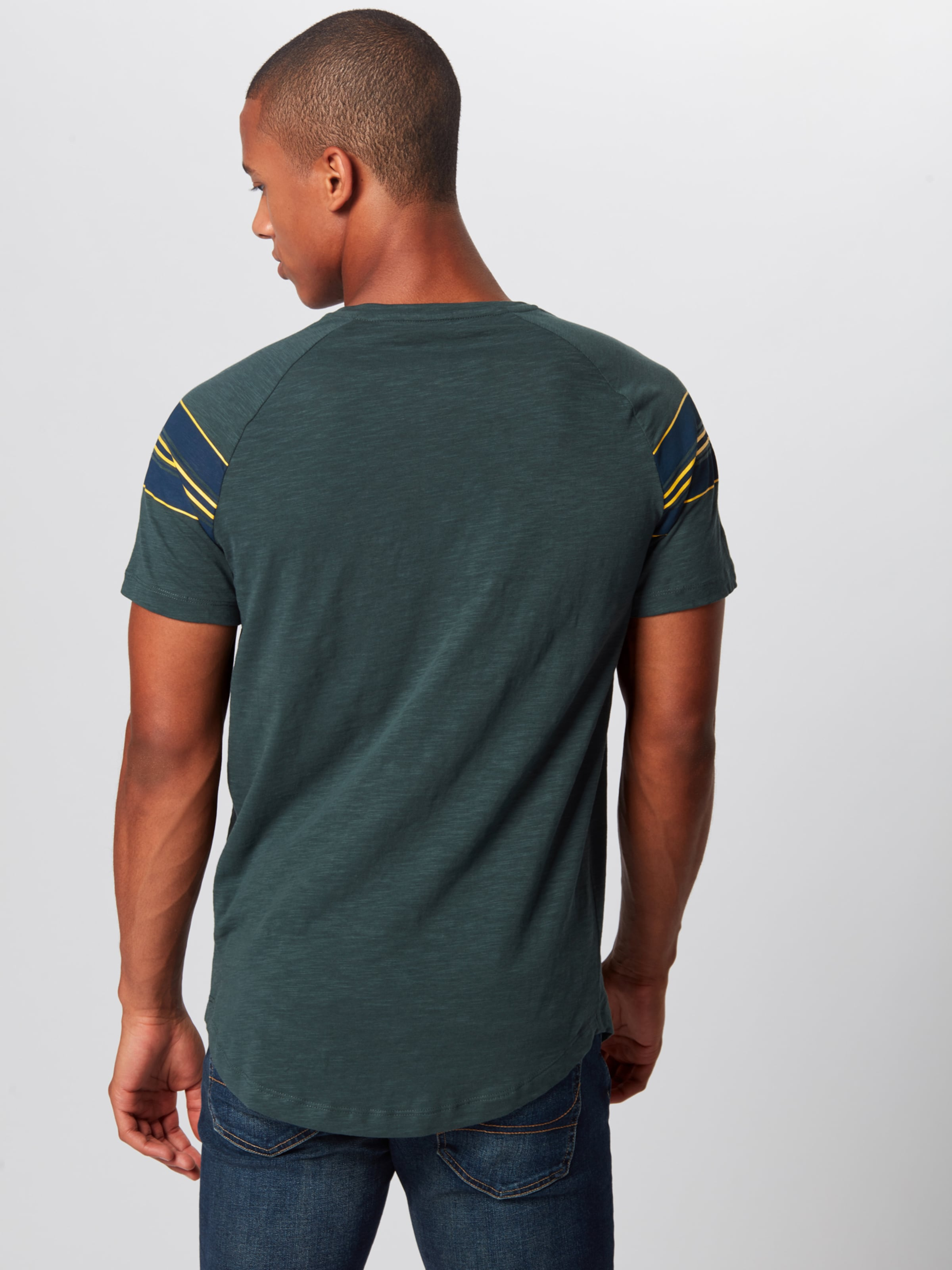Shirt Dunkelgrün In Tailor Tom Denim cF1KJl