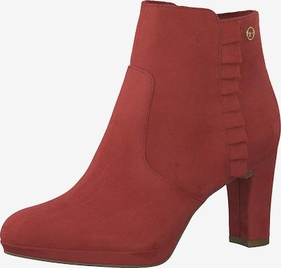 TAMARIS Bottines en rouge clair, Vue avec produit