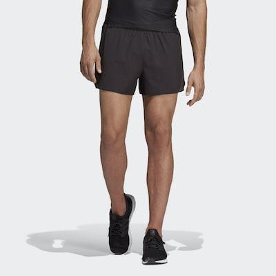 ADIDAS PERFORMANCE Pantalon de sport ' Supernova' en noir: Vue de face