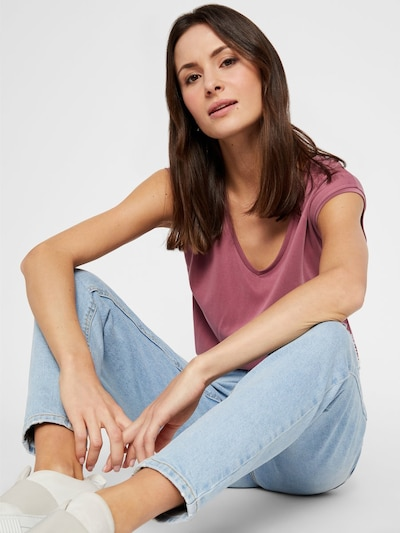 PIECES Jeans in blau: Frontalansicht