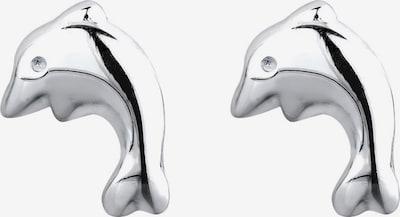ELLI Ohrringe 'Delfin' in silber, Produktansicht