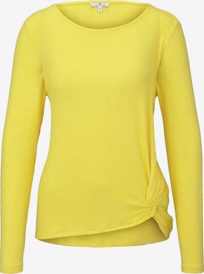 TOM TAILOR T-Shirt in gelb, Produktansicht
