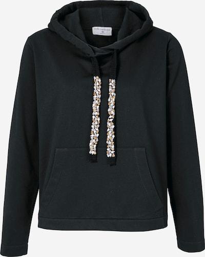 heine Sweatshirt mit Kapuze in schwarz, Produktansicht