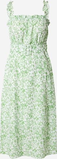 Trendyol Kleid in grün / weiß, Produktansicht