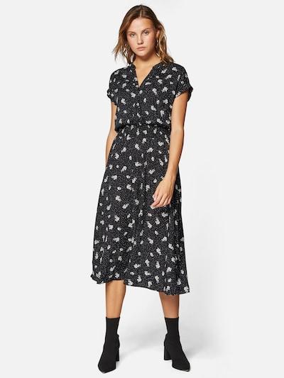 Mavi Kleid in schwarz / weiß, Modelansicht