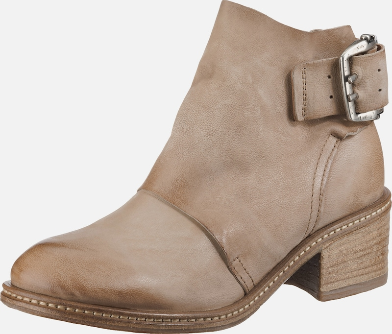 A.S.98 Boots in hellbeige: Frontalansicht