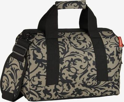 REISENTHEL Reisetasche in taupe / schwarz, Produktansicht