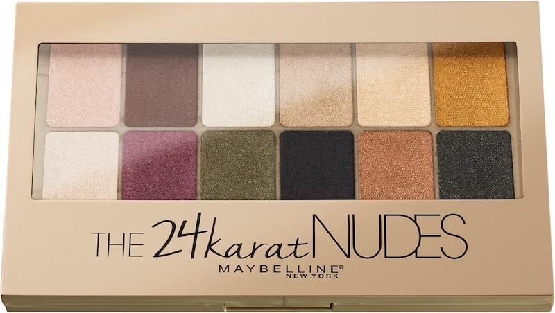 MAYBELLINE New York 'The Karat Nudes Palette', Lidschatten