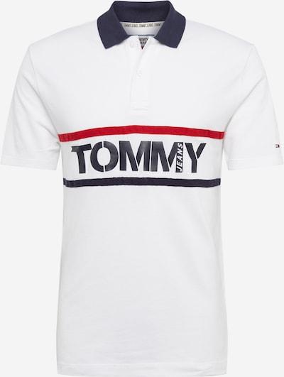 Tommy Jeans Poloshirt in navy / weiß, Produktansicht