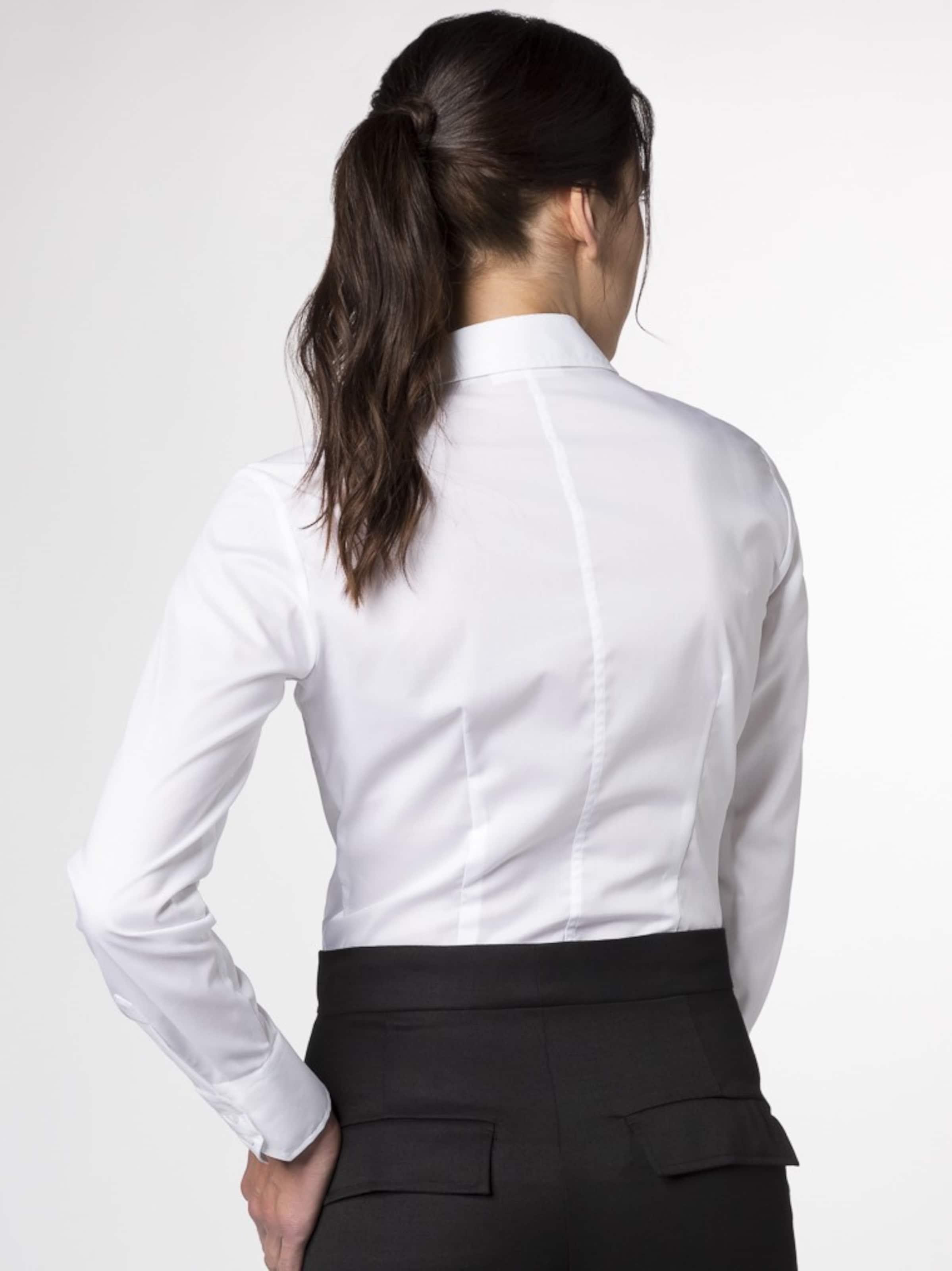 Kaufen Neueste ETERNA Langarm Bluse Marktfähig Billig Günstig Online l6qixm