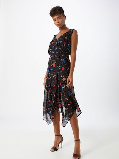 The Kooples Kleid 'ROBE' in mischfarben / schwarz, Modelansicht