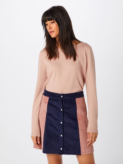 VERO MODA Strickpullover 'Care' in rosé, Modelansicht