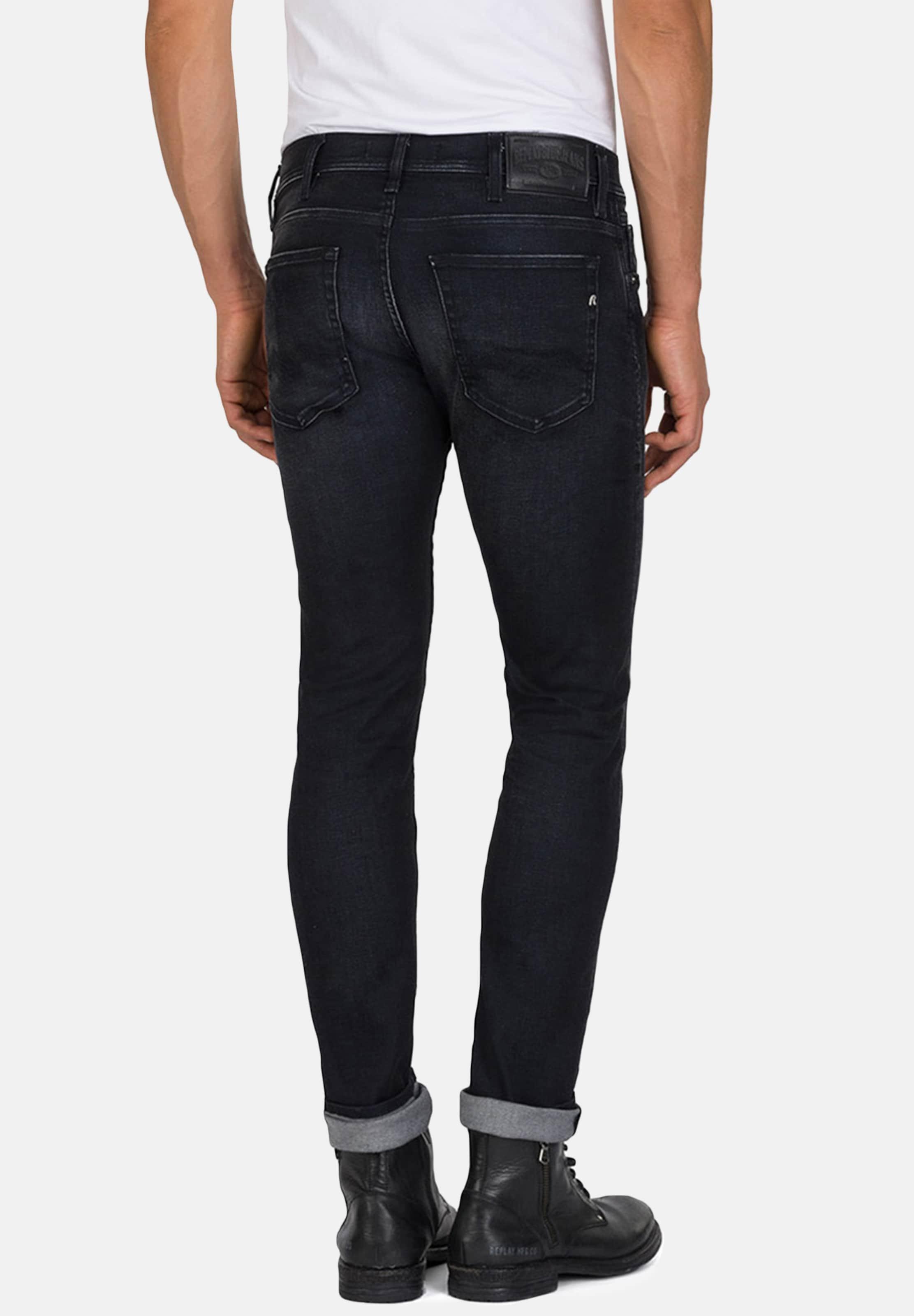 Replay 'jondrill' In Jeans Denim Black CedErxBWQo