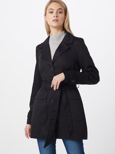 fekete VERO MODA Átmeneti kabátok 'VMABBYSOFIA 3/4 TRENCHCOAT BOOS', Modell nézet