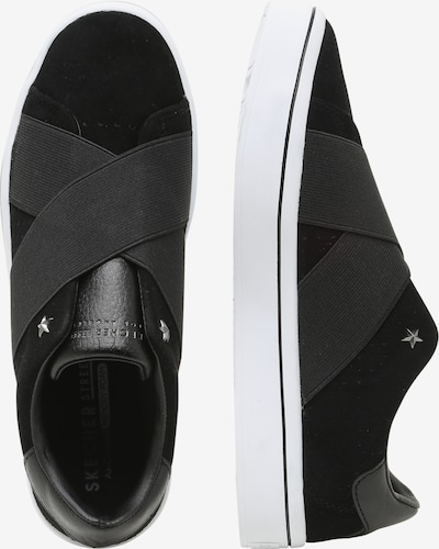 SKECHERS Sneakers 'Hi-Lite' in schwarz / weiß: Seitenansicht