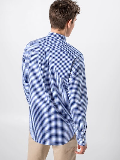 GANT Hemd 'THE BROADCLOTH' in blau / weiß: Rückansicht
