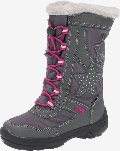LICO Winterstiefel 'Cathrin' in grau / pink, Produktansicht