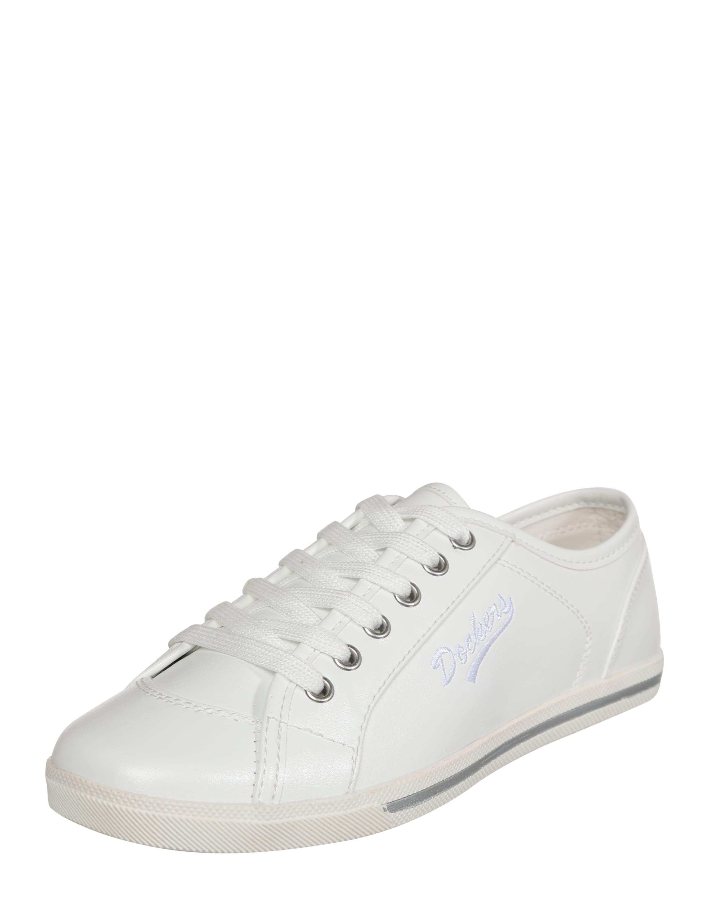 Dockers By Gerli Sneaker grau / weiß RI5fmW1GZ